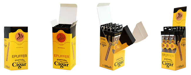 ecigar retail pos display kit
