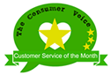 The Consumer voice award winner seal