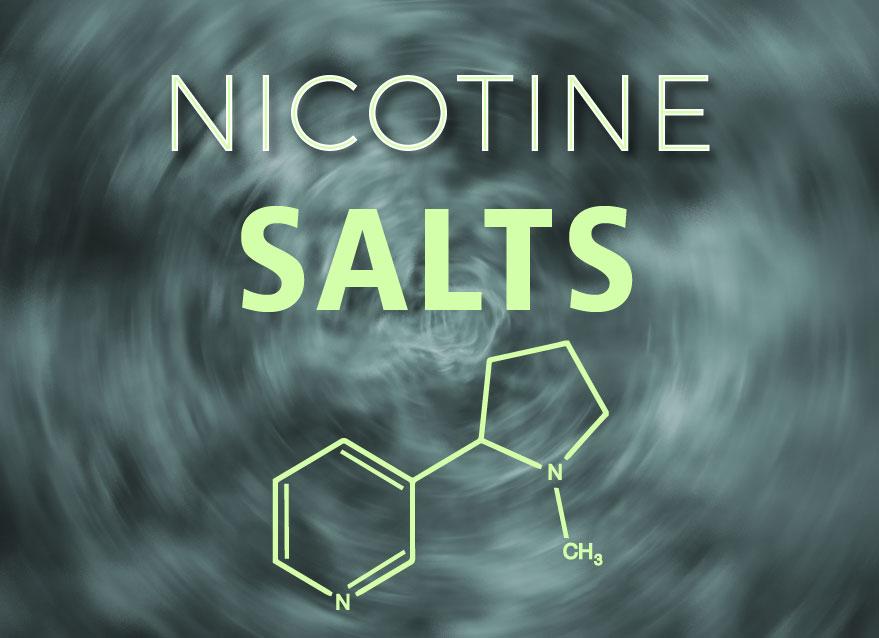 Difference between nicsalt and free base nicotine formula