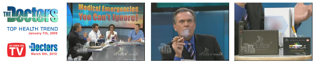 ePuffer ecigs on The Doctors TV