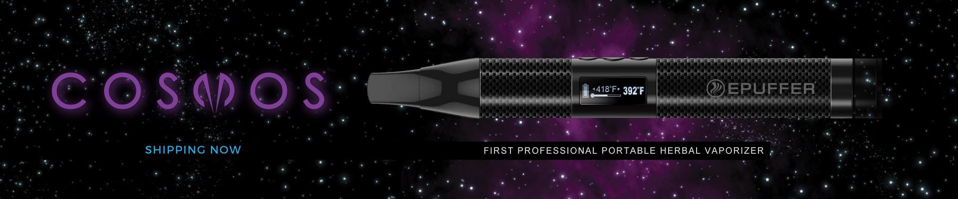 Cosmos dry-herb portable vaporizer
