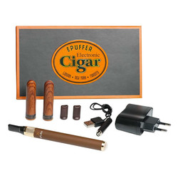 epuffer cohita electronic cigar brown