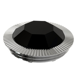 electronic pipe epipe 629x black crystal - silver cap