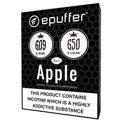 Apple flavour ecigar 650 epipe 609 cartomizers