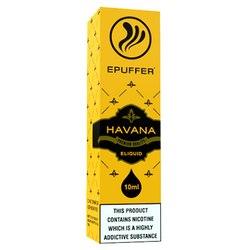 Havana Cuban cigar eliquid flavour
