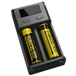 nitecore New I2 18350 18650 26650 battery charger