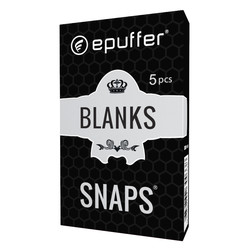 snaps blank empty soft tip ecigarette cartomizer black