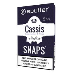 epuffer snaps cassis apple flavour cartridges
