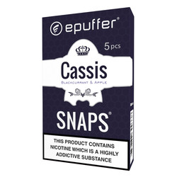 epuffer snaps cassis apple flavour cartridges