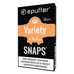 epuffer snaps sweet cartomizer pack