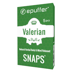 snaps valerian relaxant ecigarette cartomizer