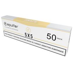 epuffer SNAPS ecig 5x5 tobacco flavour vape cartridges cartomizer