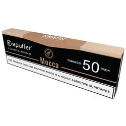 snaps ecig mocca vape cartomizers carton 50 pack