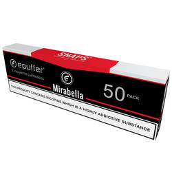 epuffer snaps ecigarette mirabella tobacco black cartridges