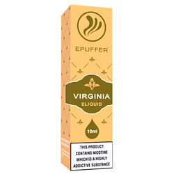 Virginia tobacco eliquid flavour