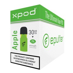 xpod vape pod prefilled double apple 30 pack carton