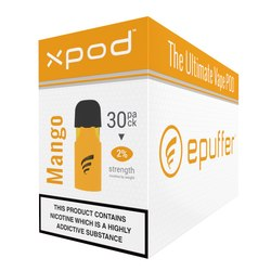 xpod vape pod prefilled sweet mango 30 pack carton