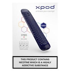 xpod carbon navy vape pod starter kit